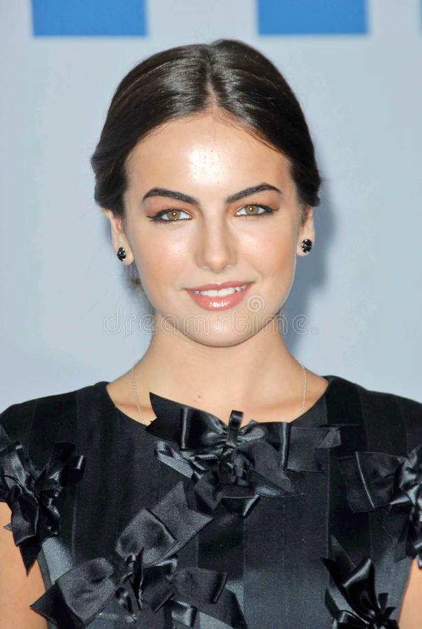 Download Camilla Belle, Karl Lagerfeld Editorial Stock Image - Image: 24305544