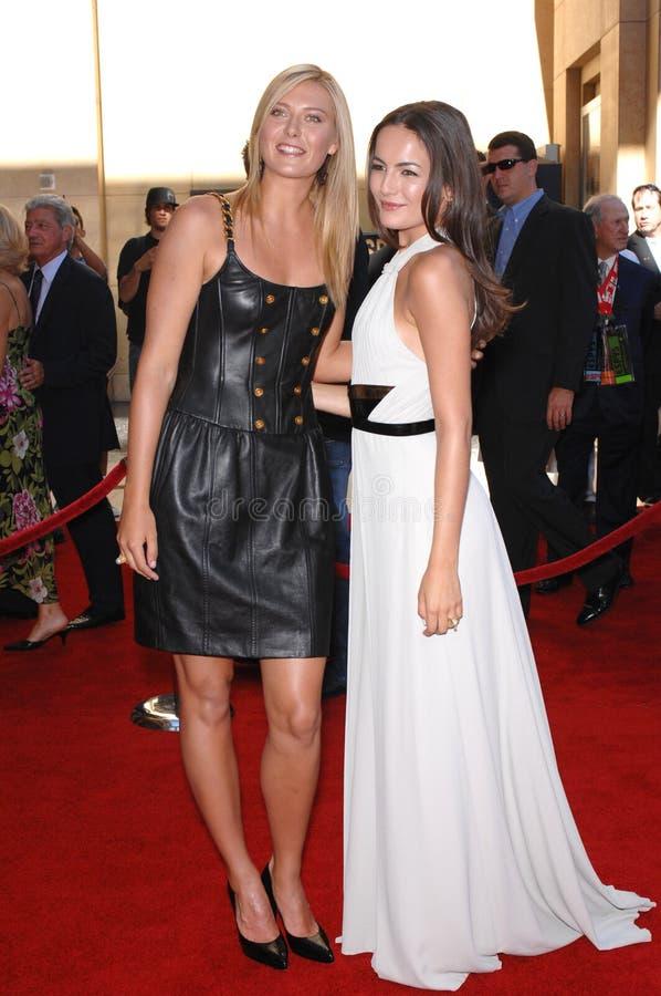 Camilla Belle, Maria Sharapova Redactionele Afbeelding