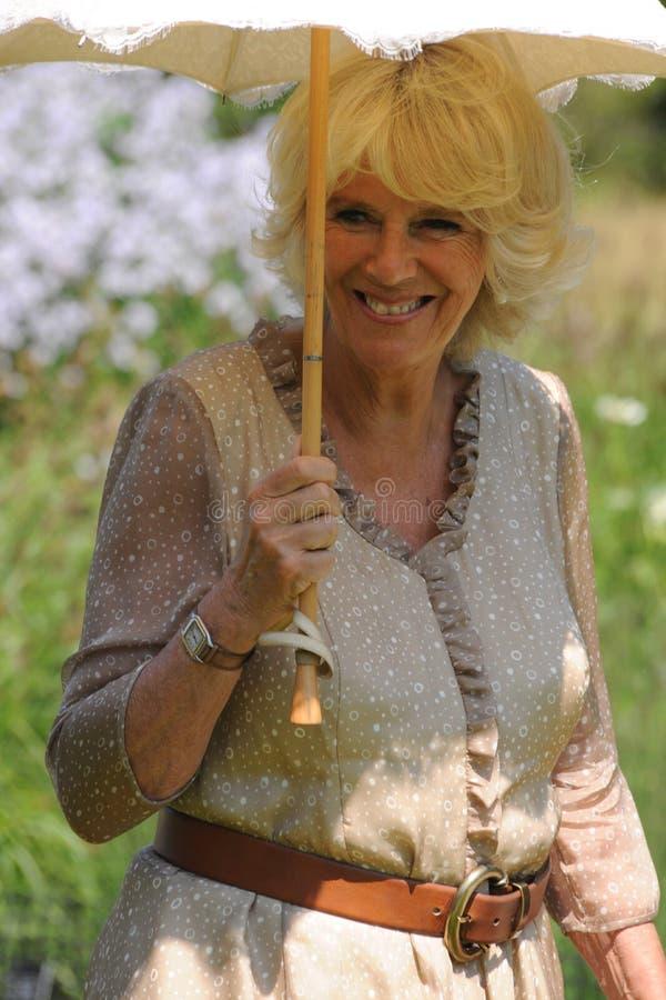 Camilla Duchess Cornwall obraz stock