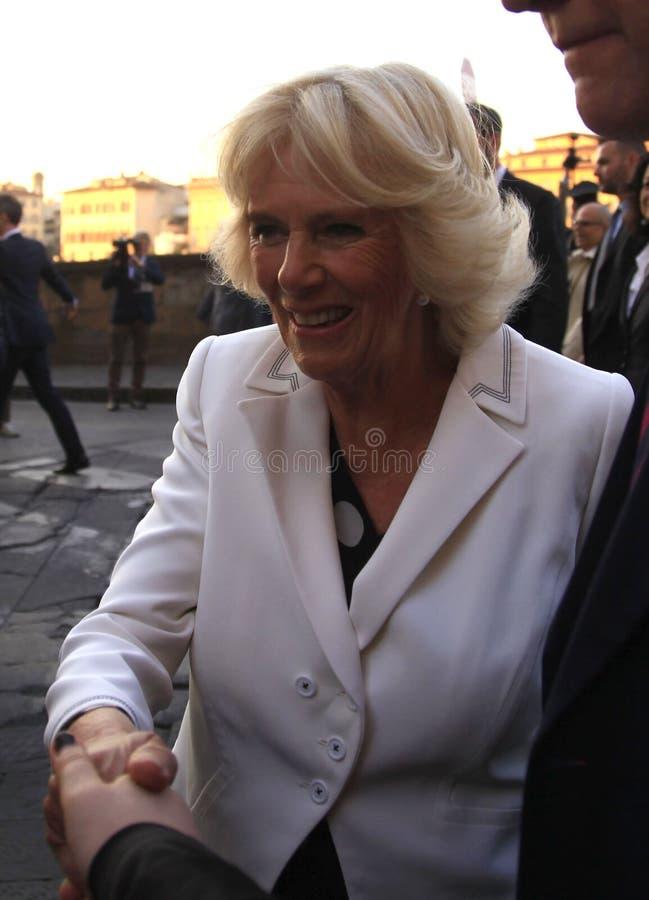 Camilla, Herzogin von Cornwall stockbilder
