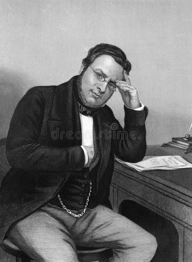 Camillo Benso, Count of Cavour stock image