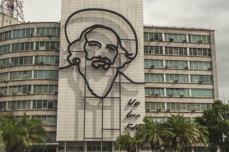 Camilo Cienfuegos Monument royalty-vrije stock afbeelding