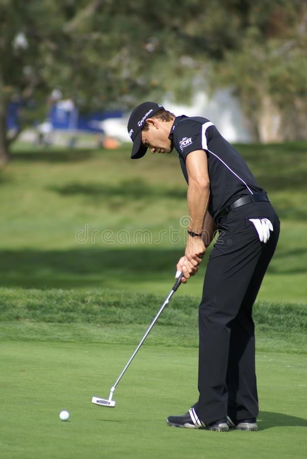 Download Camilo Villegas Golfer 2011 Farmers Insurance Open Editorial Image - Image: 18031855