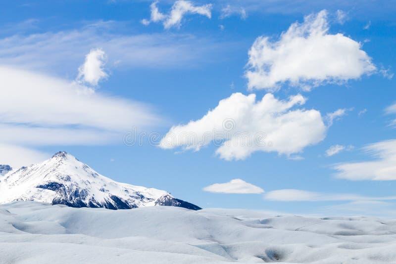 Caminando en Patagonia del glaciar de Perito Moreno, la Argentina imagen de archivo libre de regalías