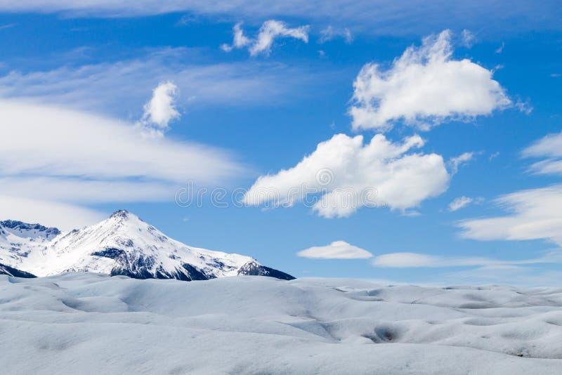 Caminando en Patagonia del glaciar de Perito Moreno, la Argentina fotografía de archivo