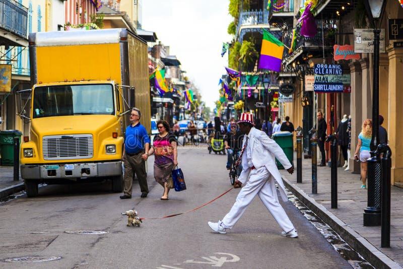 Caminante del perro fotografía de archivo