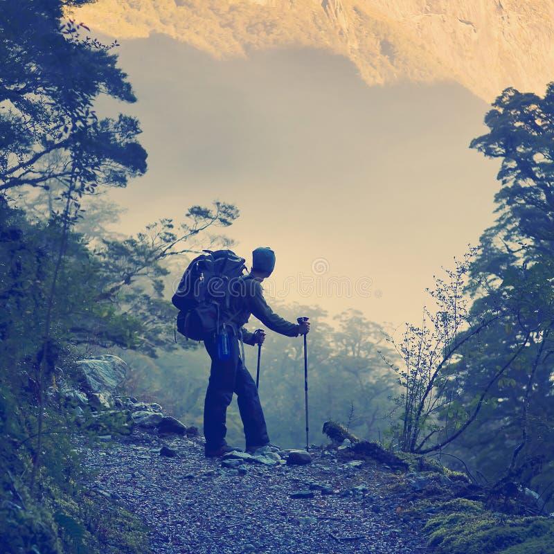 Caminar el estilo de Instagram foto de archivo