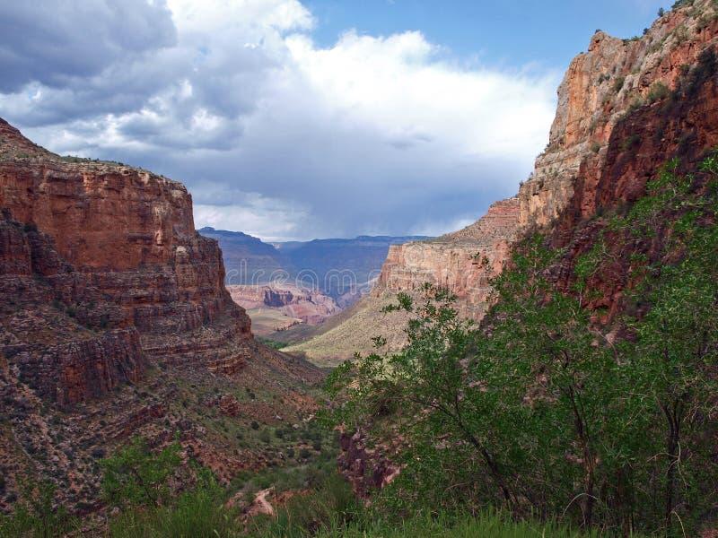 Caminar Grand Canyon imagen de archivo