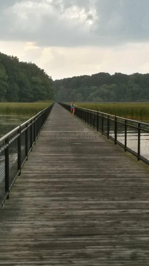 Caminata hermosa foto de archivo
