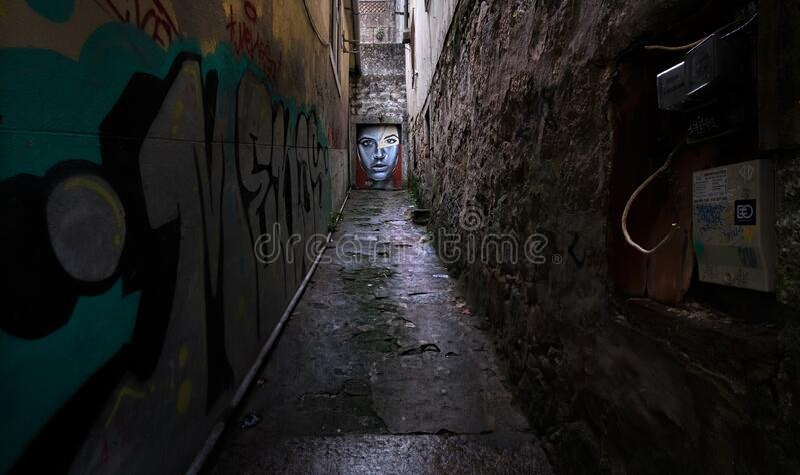 Caminatas en la antigua ciudad portuguesa de Oporto En las calles portuguesas Portugal imagen de archivo