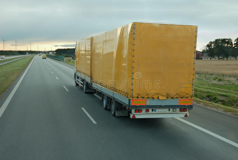 Caminhão. imagens de stock royalty free
