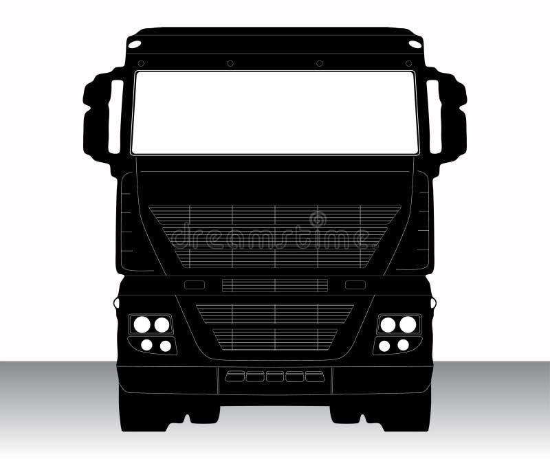 Caminhão ilustração royalty free