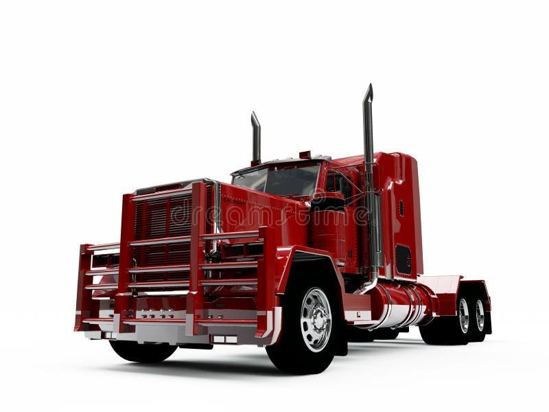 Caminhão americano ilustração stock