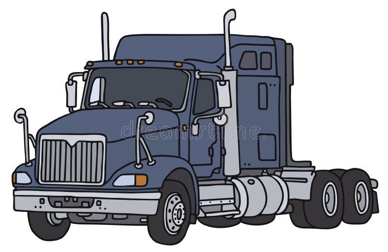 Caminhão americano grande ilustração stock