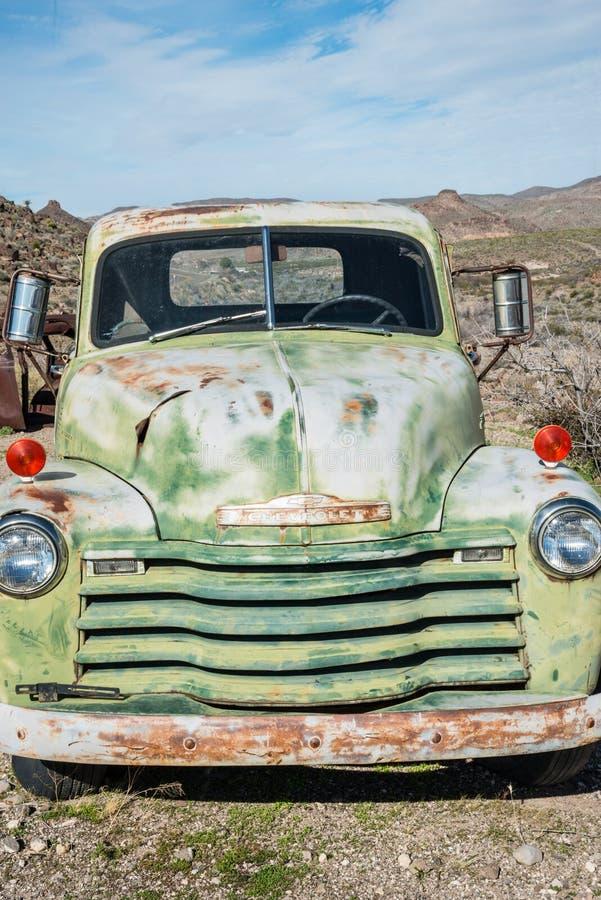 Caminhão antigo foto de stock