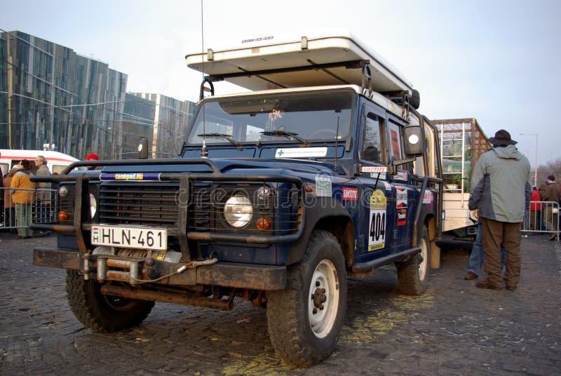 Caminhão com blocos antes do começo fotos de stock royalty free