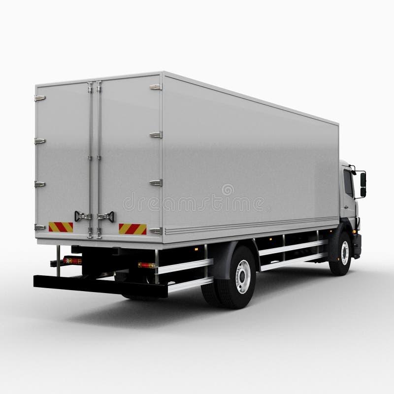 Caminhão comercial da entrega/carga ilustração royalty free