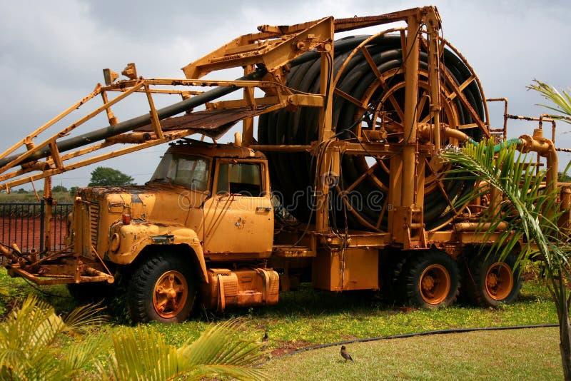 Caminhão da exploração agrícola fotografia de stock
