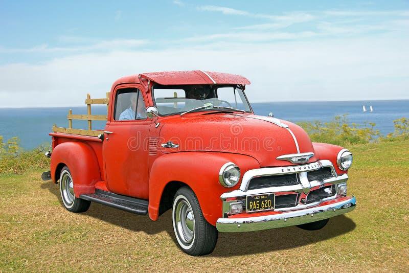 Caminhão de Chevrolet 3100 do americano imagem de stock