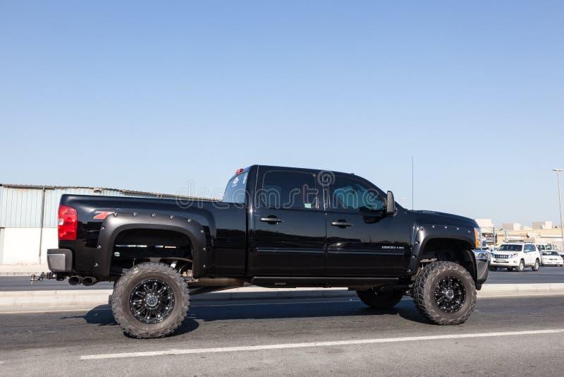 Caminhão de Chevy Silverado Pickup imagem de stock