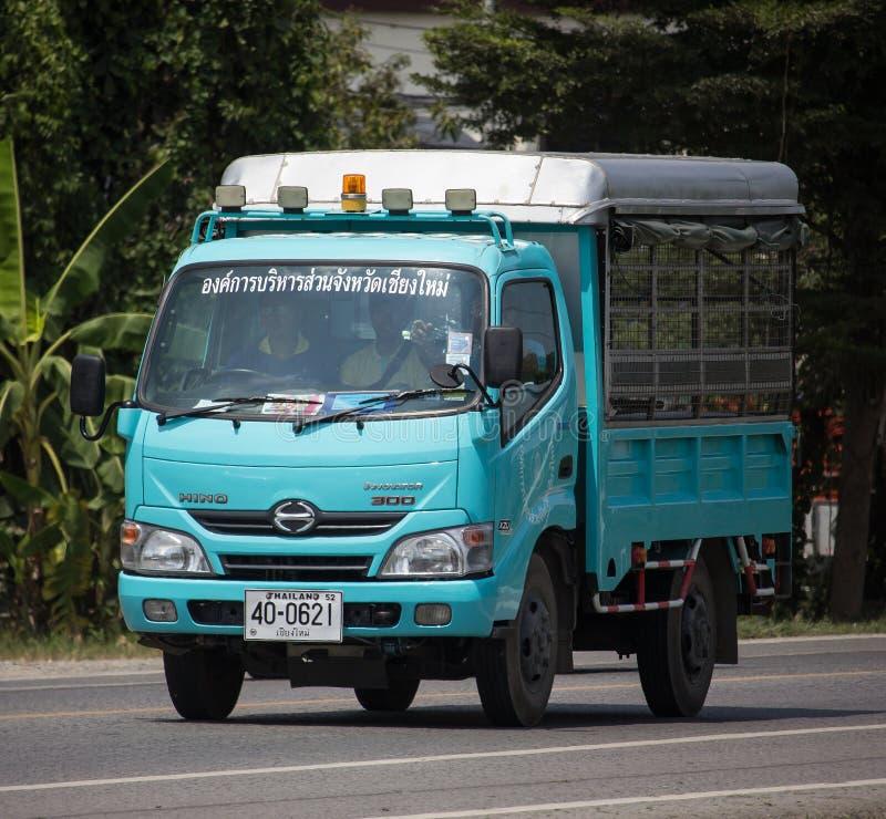 Caminhão de Chiang Mai Provincial Administrative Organization imagem de stock