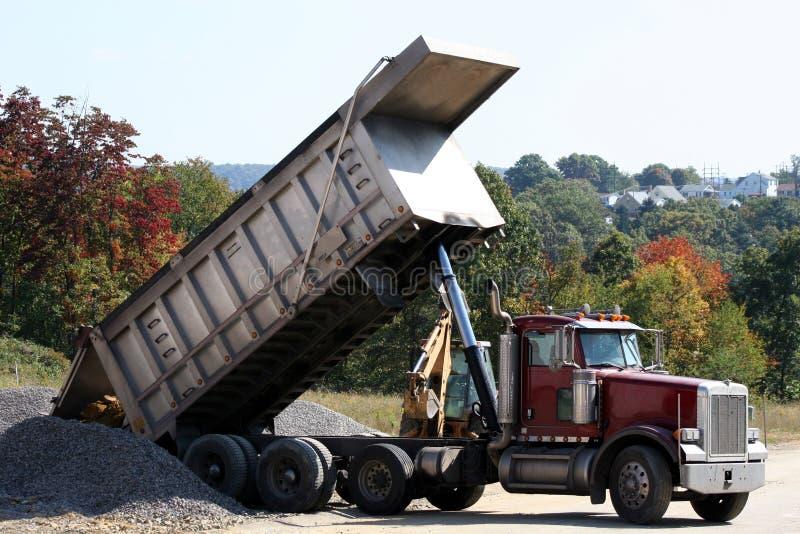 Caminhão de descarga 1 fotografia de stock royalty free