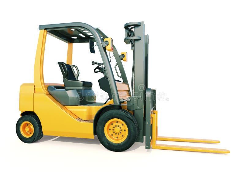 Caminhão de empilhadeira foto de stock