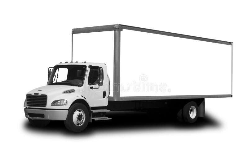 Caminhão de entrega imagem de stock