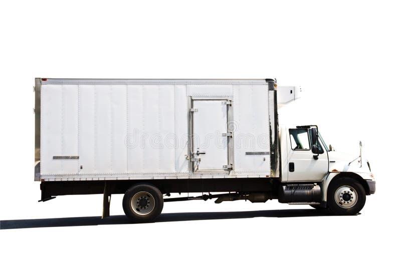 Caminhão de entrega Refrigerated imagem de stock royalty free