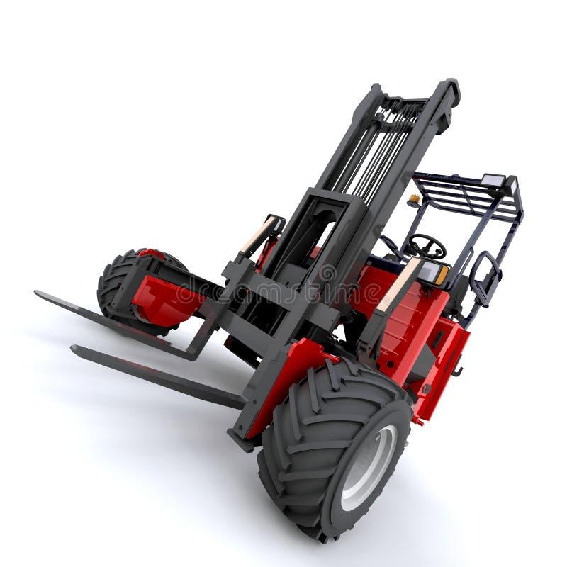 Caminhão de Forklift ilustração stock