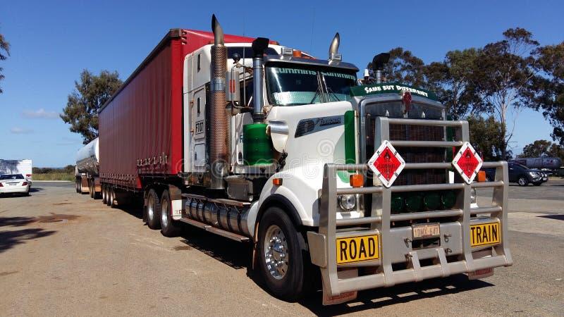Caminhão de Kenworth foto de stock royalty free