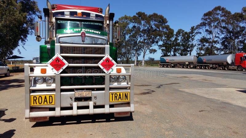 Caminhão de Kenworth fotografia de stock royalty free