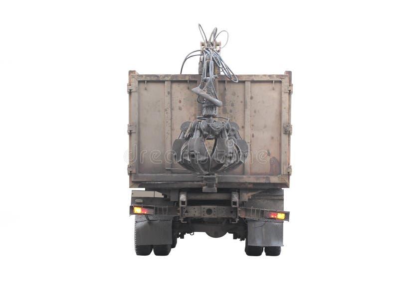 Download Caminhão de lixo imagem de stock. Imagem de cleanness - 12806405