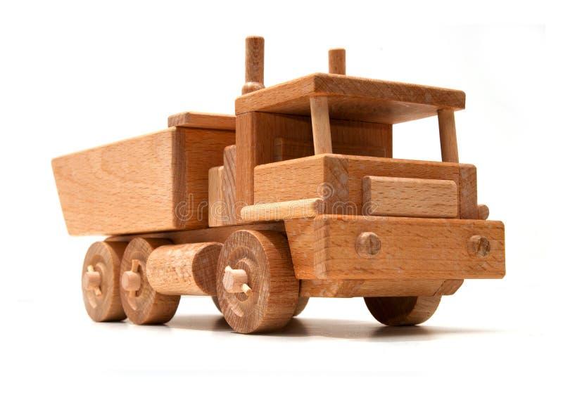 Caminhão de madeira fotos de stock