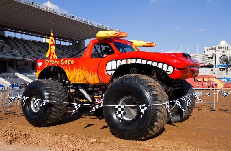 Caminhão de monstro fotografia de stock royalty free