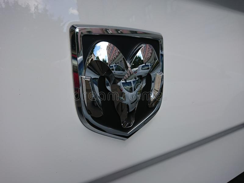 Caminhão de RAM 1500 foto de stock