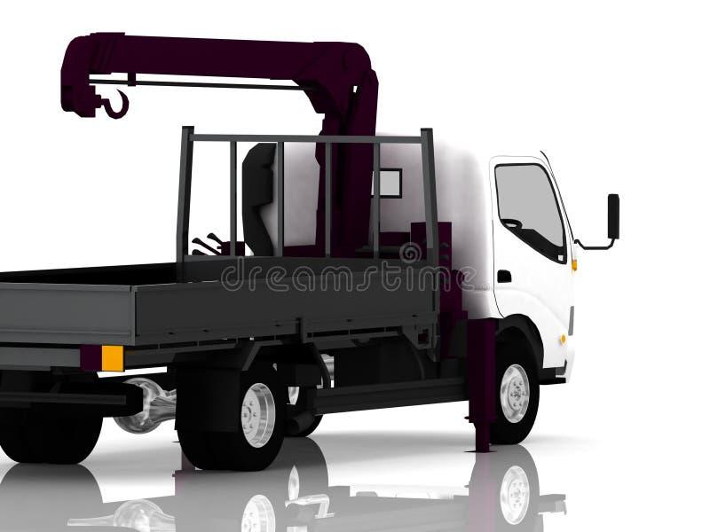 Caminhão de reboque ilustração royalty free