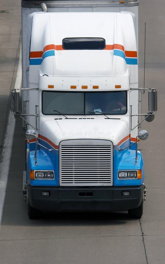Caminhão de reboque do trator foto de stock royalty free