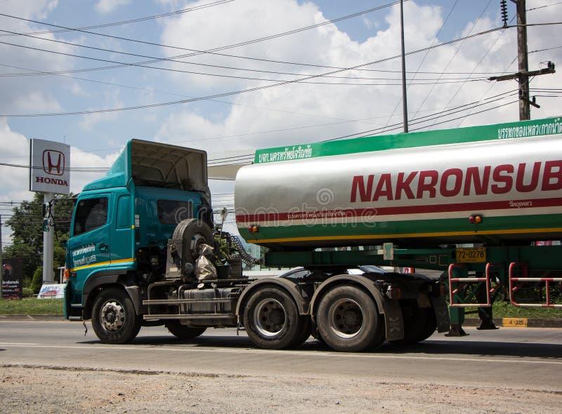 Caminhão de tanque do melaço de NAKRONSUB Empresa fotografia de stock