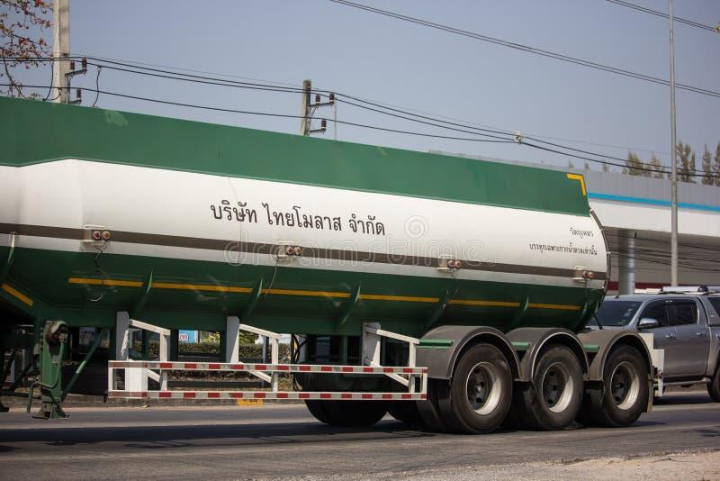 Caminhão de tanque do melaço de Tailandês Molaz Empresa fotos de stock
