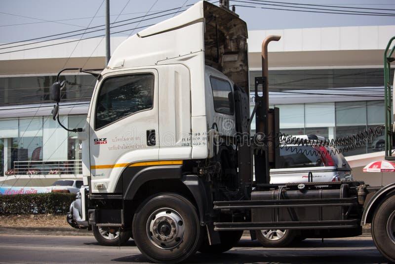 Caminhão de tanque do melaço de Tailandês Molaz Empresa foto de stock royalty free