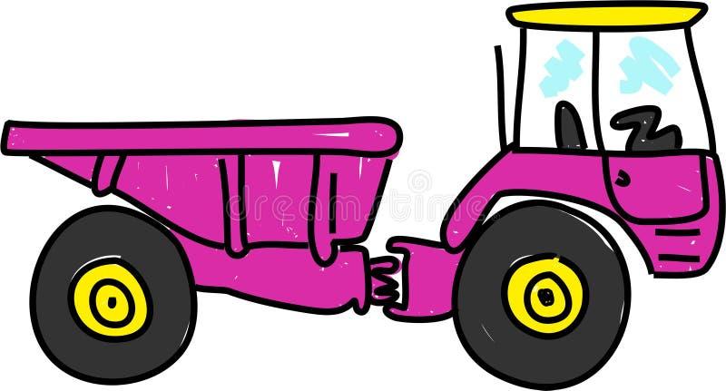 Caminhão de Tipper ilustração stock