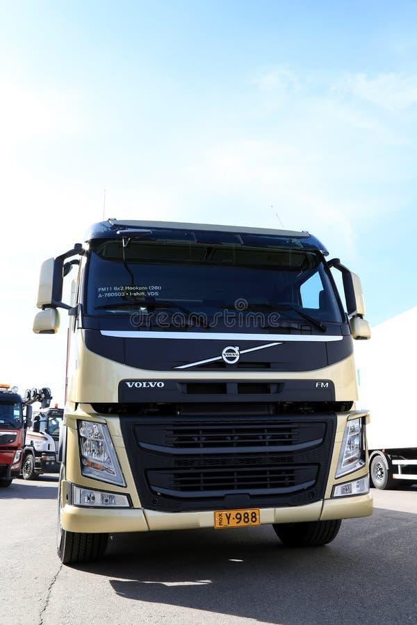 Caminhão de Volvo FM11 HookPro fotografia de stock royalty free