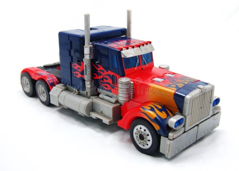 Caminhão do brinquedo imagem de stock