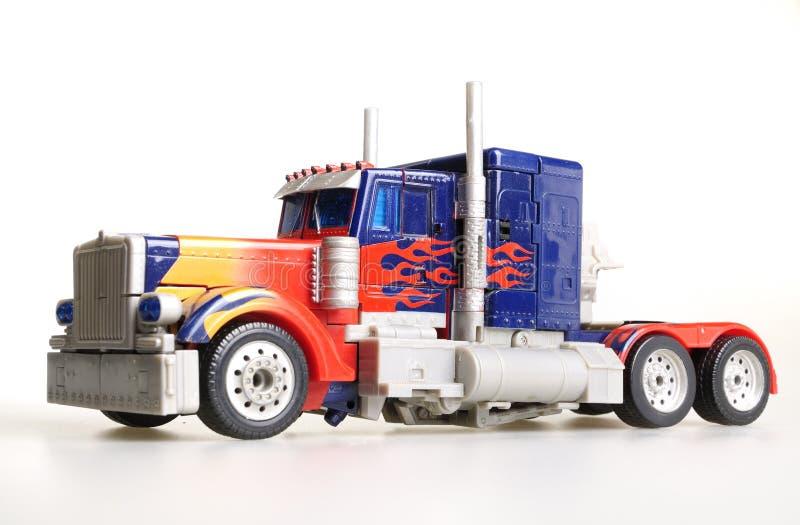 Caminhão do brinquedo fotografia de stock royalty free