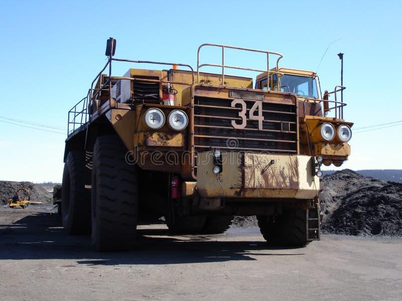 Caminhão do reboque grande imagem de stock royalty free