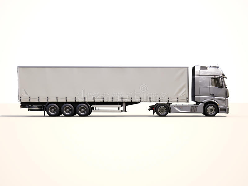 caminhão do Semirreboque imagens de stock