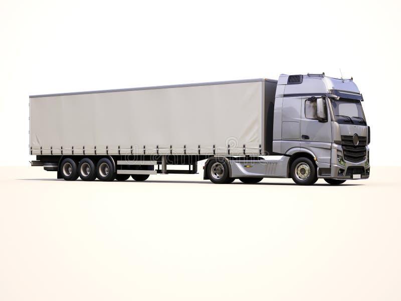 caminhão do Semirreboque imagens de stock royalty free