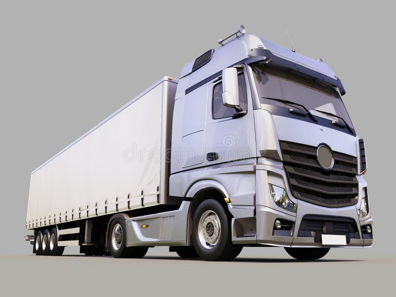 caminhão do Semirreboque fotografia de stock royalty free