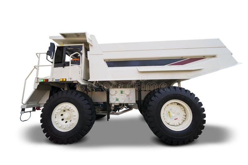 Caminhão do transporte no estúdio fotografia de stock royalty free